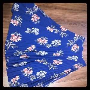 Banana Republic Floral Maxi Skirt, size 8